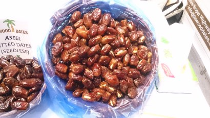 Dates with Cashew and Almond